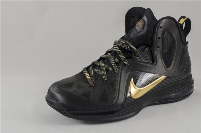 Nike Lebron Elite Black Metallic Gold