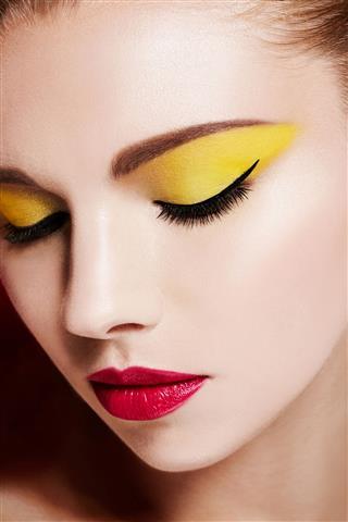 Beautiful Colorful Makeup