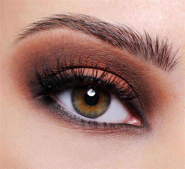 Brown Eye Make Up