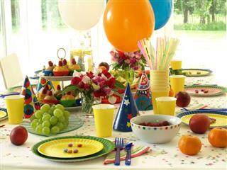 Birthday table
