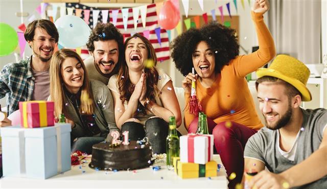 Ideas For A 21st Birthday Cake