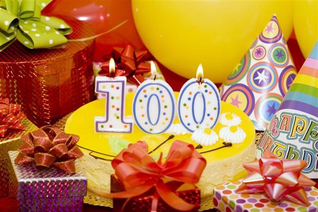One hundred anniversary celebration