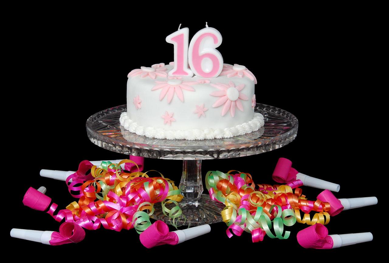 Cake Ideas For Sweet Sixteen Birthdays