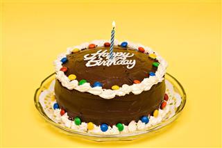 Chocolate Brithday Cake