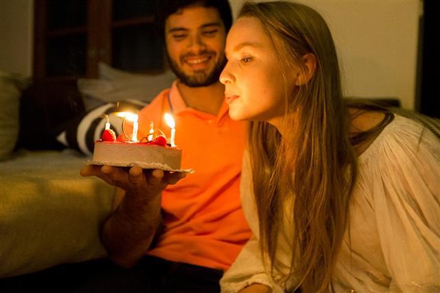 Happy Birthday Darling, Make a Wish