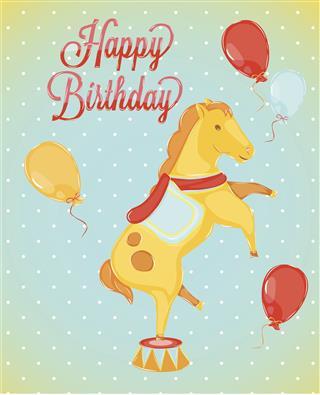 Birthday Horse