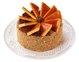 Hungarian Dobos Torte Cake