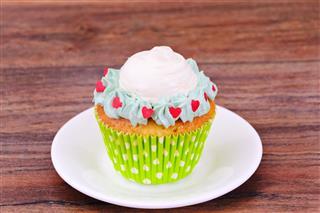 Cream Cupcake