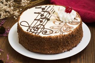Biscuit Cream Cake