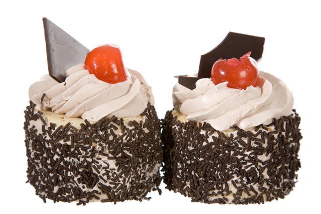 Two Cream Cakes