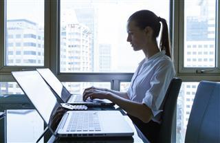 Woman Computer Programmer