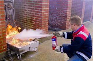 Firefighting Demonstration