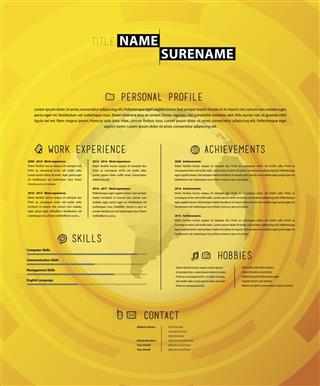 Creative Cv Resume Template
