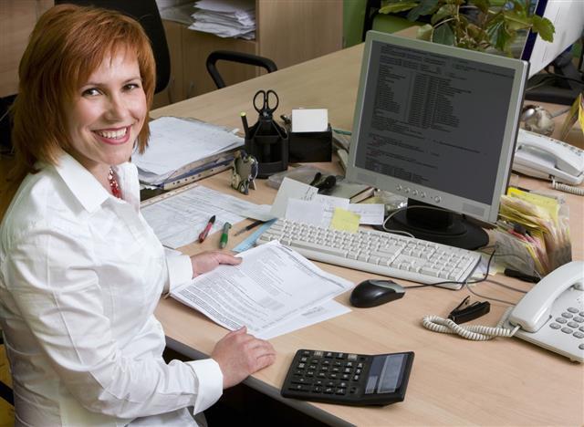 Professional Woman Programmer