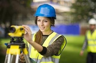 Female Site Engineer