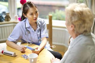 Community Nurse Make A House Call
