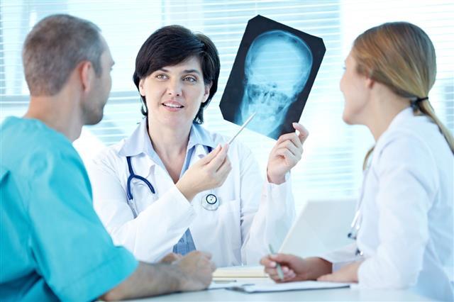Examining X Ray
