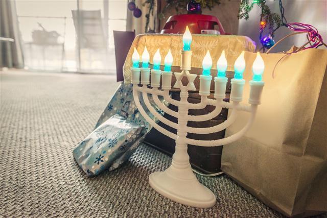 Celebrating Chanukkah Winter Holiday