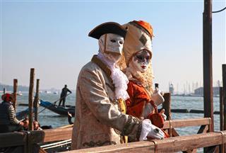 Venetian Mask Carnival Of Venice Italy