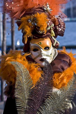 Carnival Mask Venice Italy