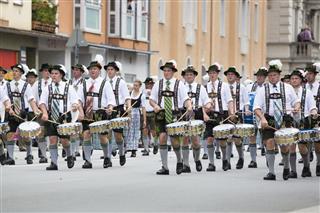 Oktoberfest Munich Parade Arrival