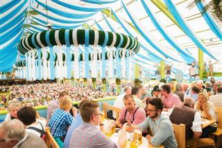 Oktoberfest In Munich Germany