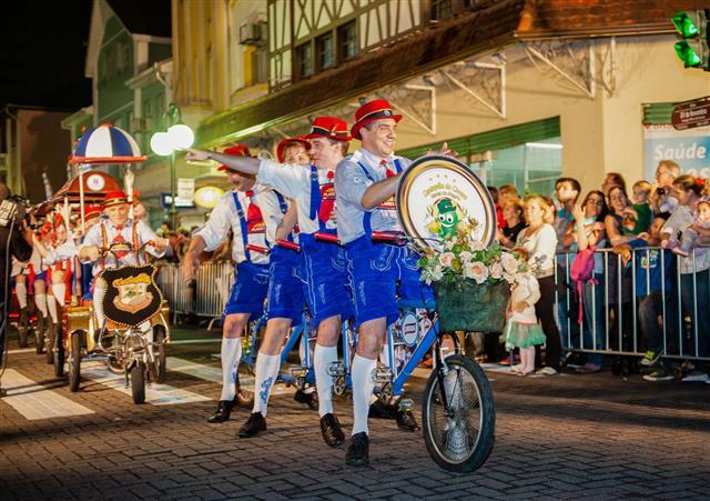 Oktoberfest Blumenau Brazil Official Parade