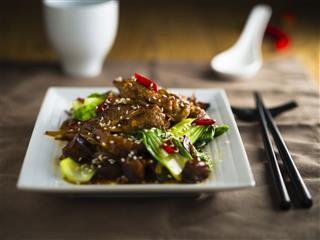 Oriental Beef Stir Fired