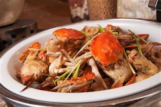 Samba Sauteed Crab