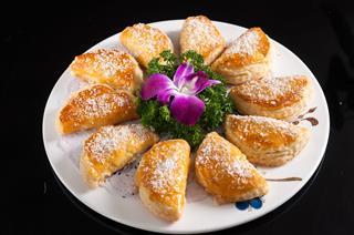 Crispy Durian Cake