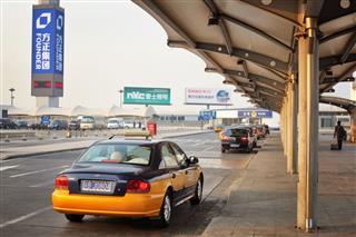 Taxi At Beijing Capital International Airport