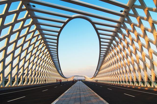 Bridge In Beijing