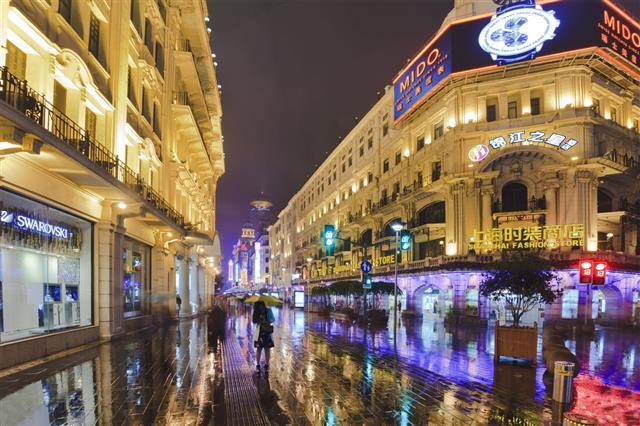 Sanghai Nanjing Road Wet Mido