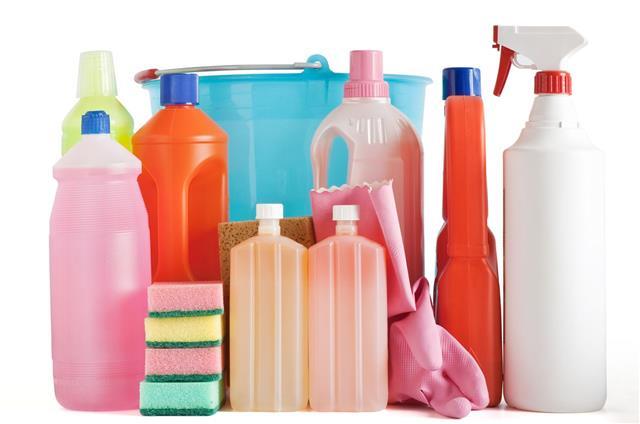 Plastic Detergent Bottles And Bucket