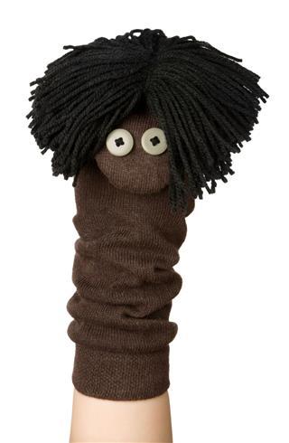 Funny Sock Puppet
