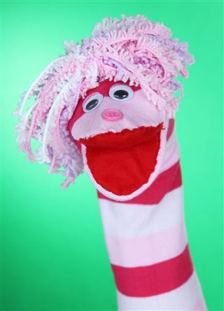 Cute Sock Puppet