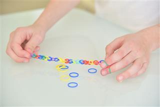 Loom Bracelets Teen Fashion Concept