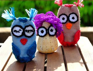 Owls Puppet