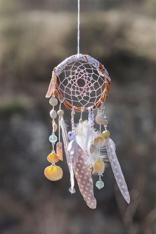 Handmade Native American Dream Catcher