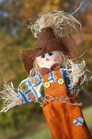 Arts Crafts Scarecrow