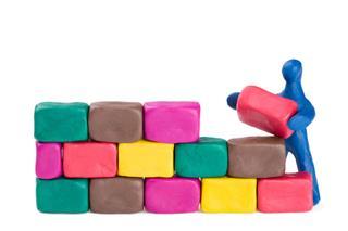 Mason And Brick Wall