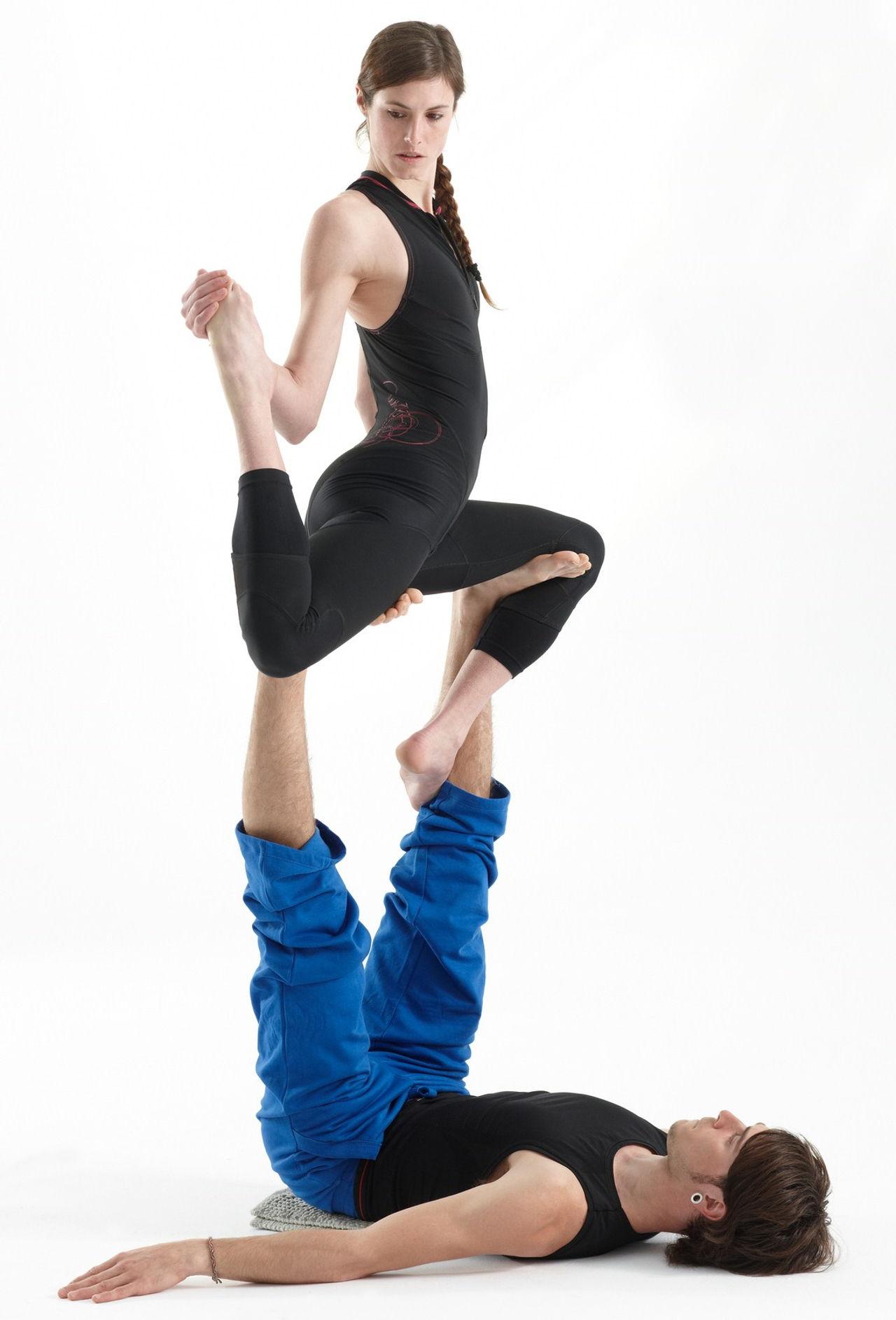 Acro Yoga For Two on Tango Dance Steps