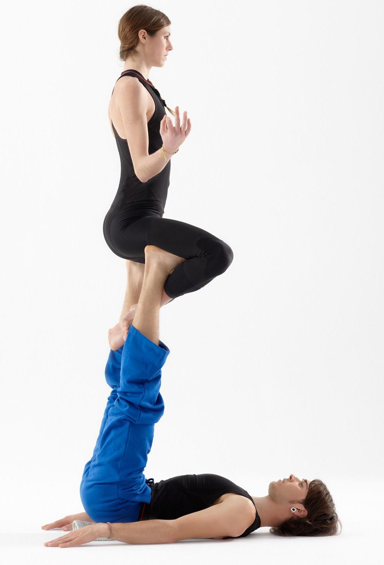 Acro Yoga Position on Basic Dance Steps For Beginners