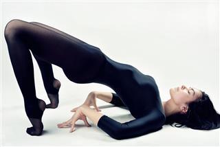 Beautiful Woman With Perfect Slim Body