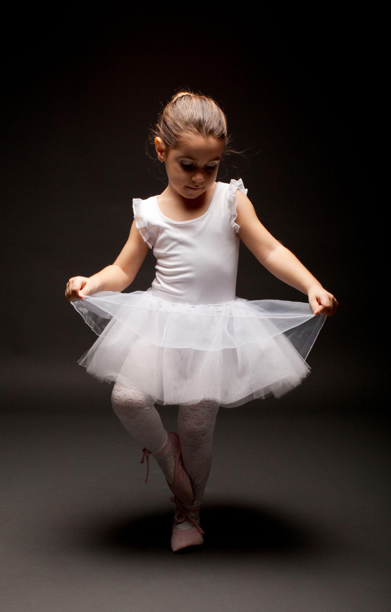 Little Ballerina on Salsa Steps For Beginners
