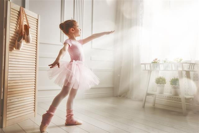 Girl In A Pink Tutu