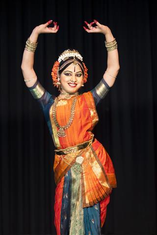 Beautiful Indian Kuchipudi Dancer