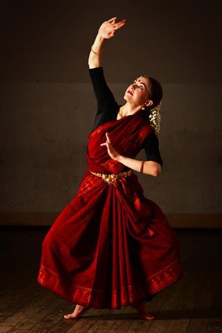 Exponent Of Bharat Natyam Dance