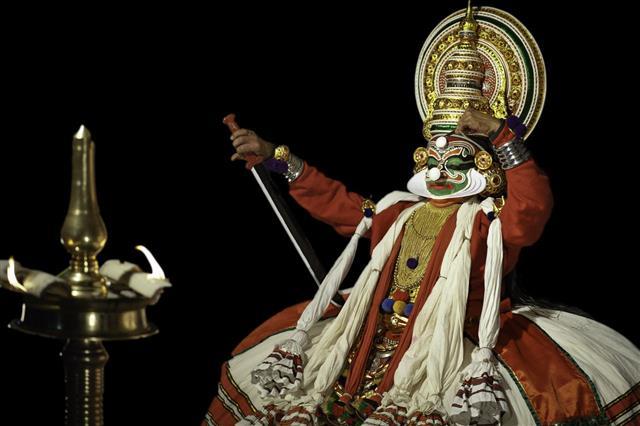 Kathakali Performer Kannur Kerala India