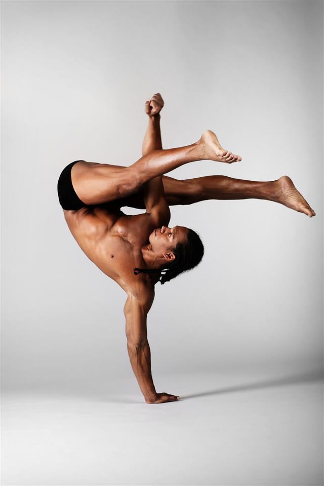 Male Dancer Standing